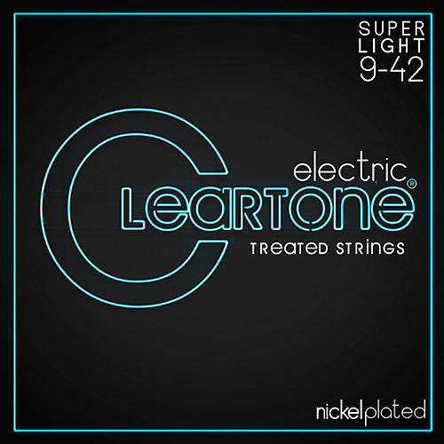 Cleartone Nickel-Plated Super Light Electric Guitar Strings
