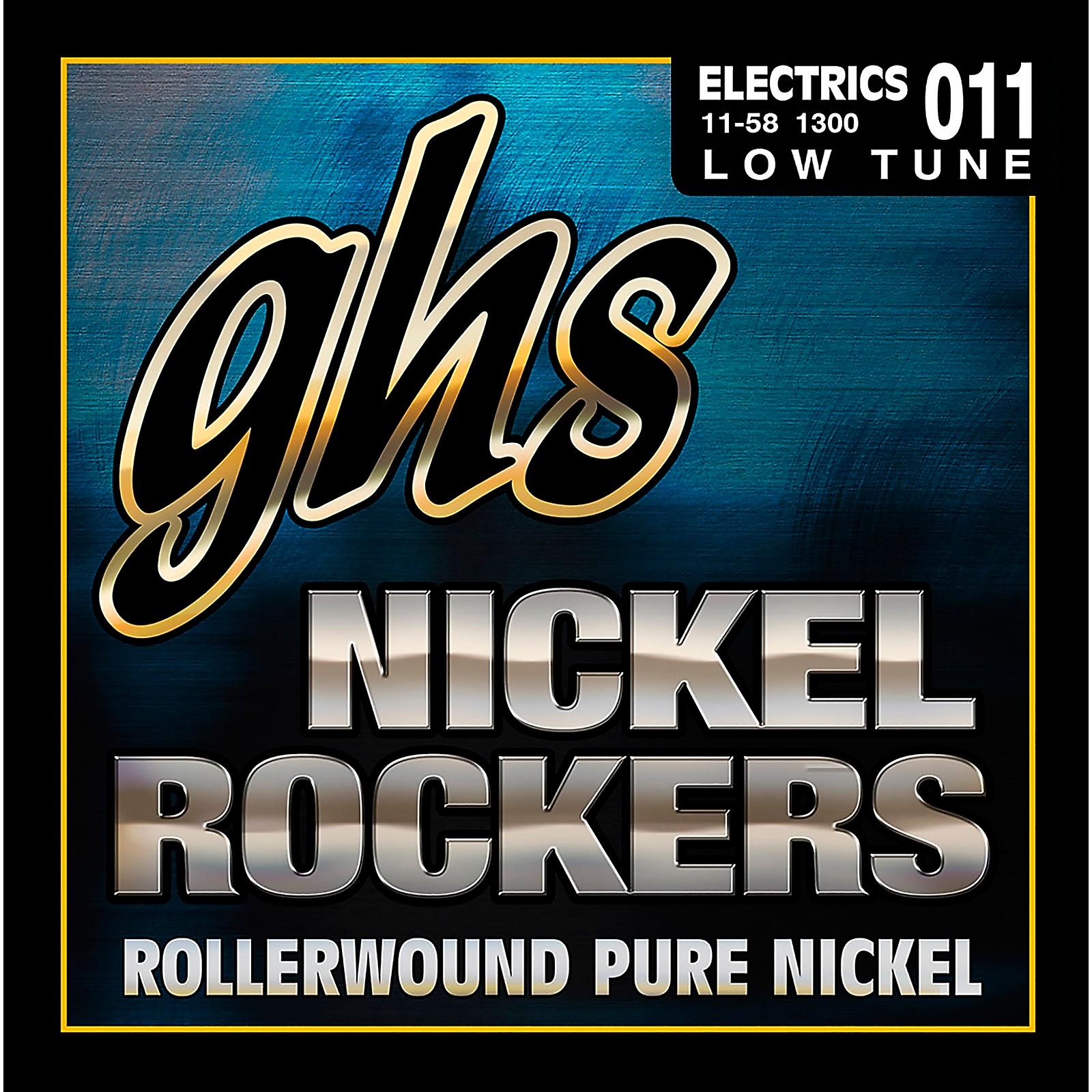 GHS Nickel Rockers Lo Tune SRV Set