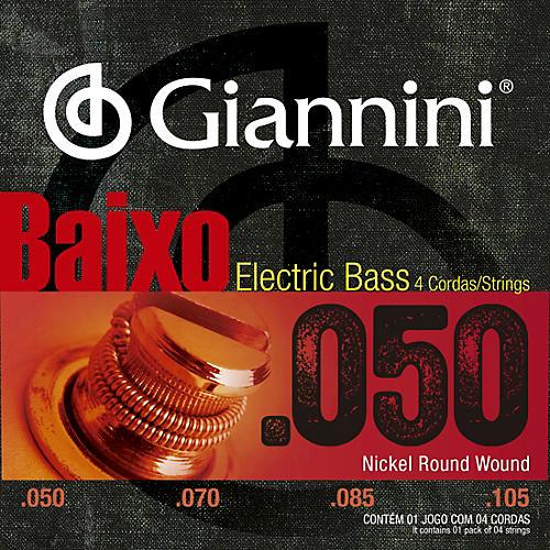 Nickel Round Wound Medium .50-.105  Electric Bass Strings