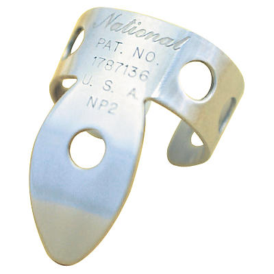 National Picks Nickel Silver Finger Picks