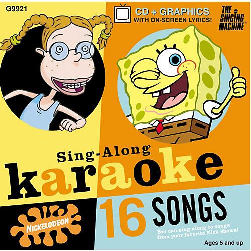 The Singing Machine Nickelodeon SpongeBob SquarePants Volume 1 Karaoke CD+G