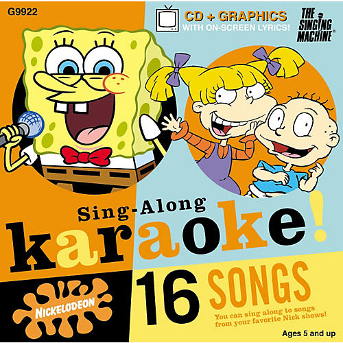 The Singing Machine Nickelodeon SpongeBob SquarePants Volume 2 Karaoke CD+G