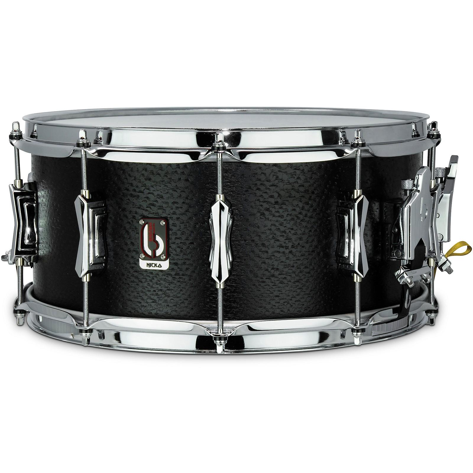 British Drum Co. Nicko McBrain Icarus Signature Snare Drum