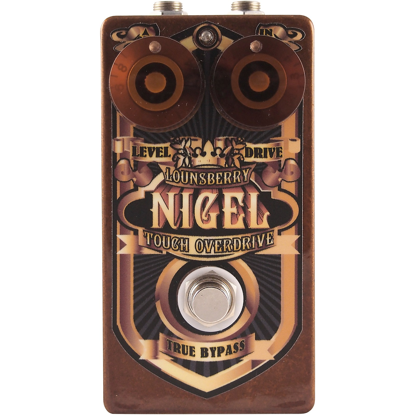Lounsberry Pedals Nigel Overdrive Effects Pedal
