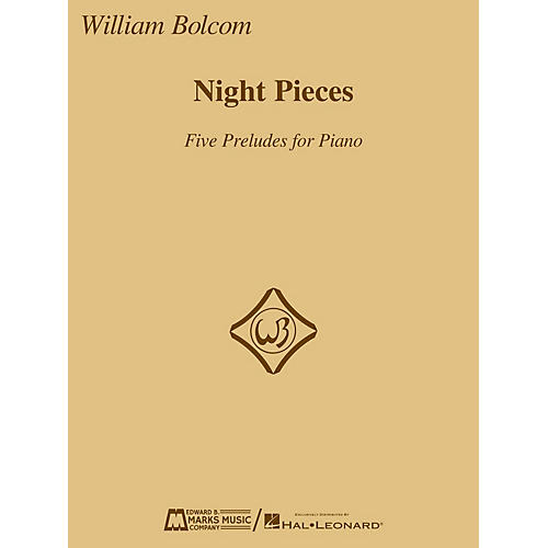 Edward B. Marks Music Company Night Pieces: Five Preludes for Piano E.B. Marks Series Softcover