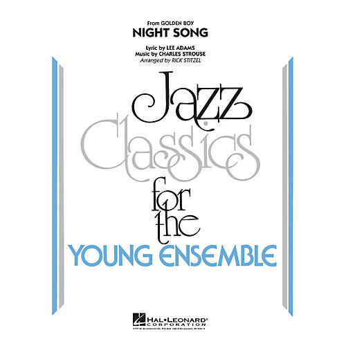 Hal Leonard Night Song (from Golden Boy) Jazz Band Level 3 Arranged by Rick Stitzel