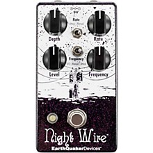 Open Box EarthQuaker Devices Night Wire V2 Harmonic Tremolo Effects Pedal