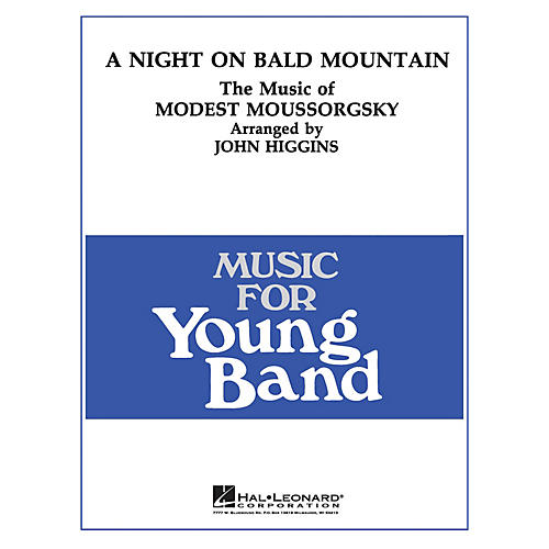 Hal Leonard Night on Bald Mountain - Young Concert Band Level 3 arranged by John Higgins