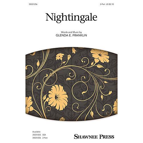 Shawnee Press Nightingale 2-Part composed by Glenda E. Franklin