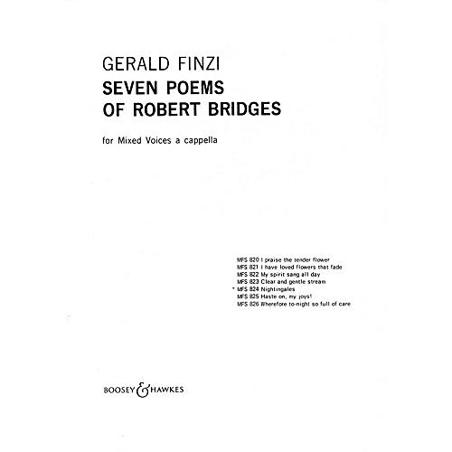 Boosey and Hawkes Nightingales (No. 5 from Seven Poems of Robert Bridges) SSATB A Cappella composed by Gerald Finzi