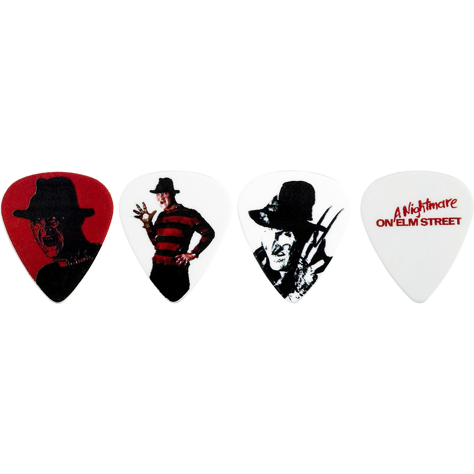 Clayton Nightmare On Elm Street Guitar Picks 6-Pack