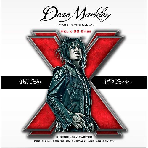 Dean Markley Nikki Sixx Helix HD SS Bass Guitar Strings