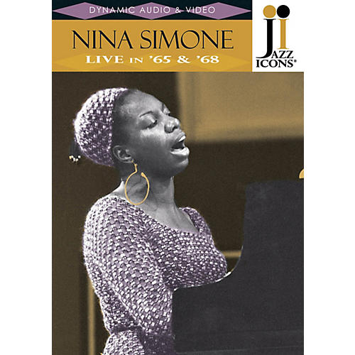 Jazz Icons Nina Simone - Live in '65 & '68 (Jazz Icons DVD) Live/DVD Series DVD Performed by Nina Simone