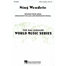 Hal Leonard Ning Wendete SATB DV A Cappella arranged by William Powell