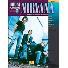 Hal Leonard Nirvana - Drum Play-Along Volume 17 Book/CD Set