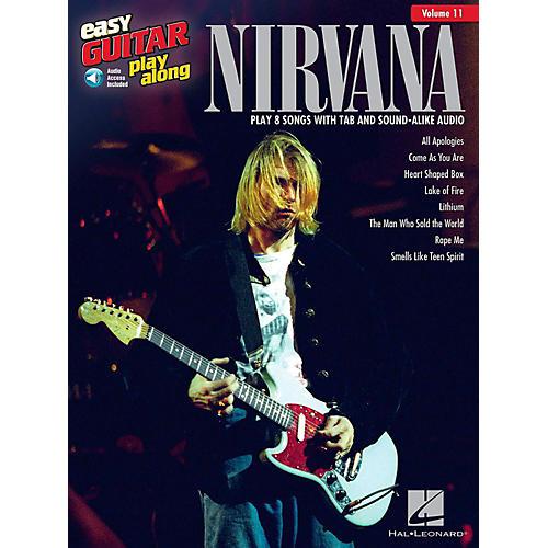 Hal Leonard Nirvana - Easy Guitar Play-Along Volume 11 Book/Audio Online