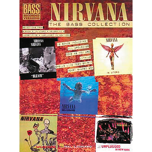 Hal Leonard Nirvana - The Bass Collection Tab Songbook