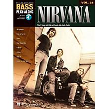 Hal Leonard Nirvana Bass Play-Along Volume 25 (Book/CD)