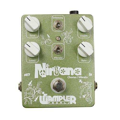 wampler nirvana chorus vibrato guitar effects pedal musician 39 s friend. Black Bedroom Furniture Sets. Home Design Ideas
