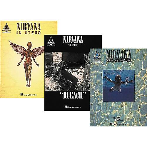 Hal Leonard Nirvana Complete Guitar Tab Library