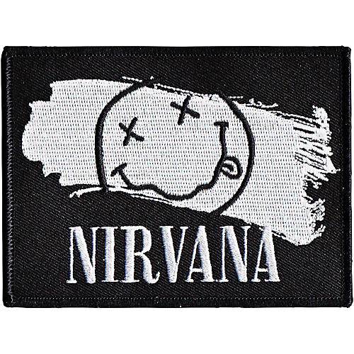 C&D Visionary Nirvana -Smiley Paint Patch