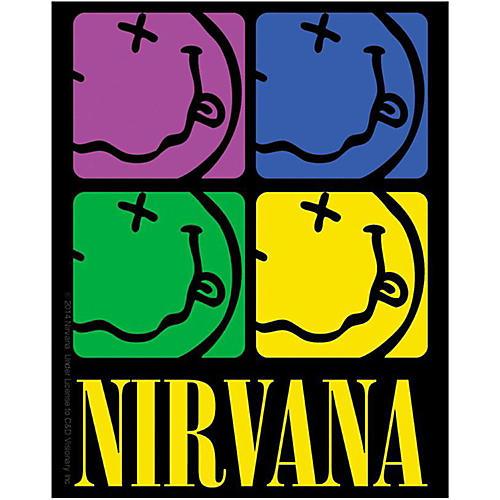 C&D Visionary Nirvana Smiley-face Color Sticker