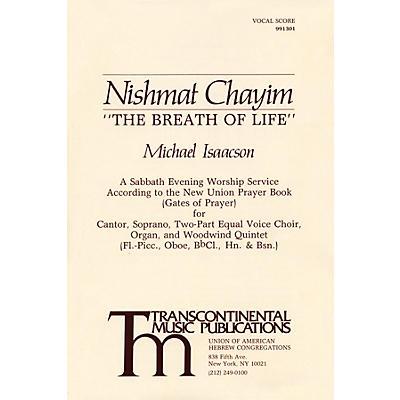 Transcontinental Music Nishmat Chayim (The Breath of Life) 2-Part Score