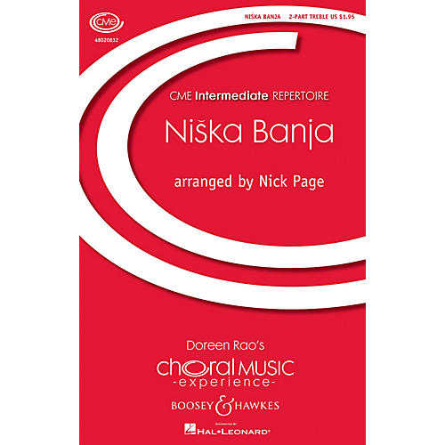 Boosey and Hawkes Niska Banja (CME Intermediate) 2-Part arranged by Nick Page