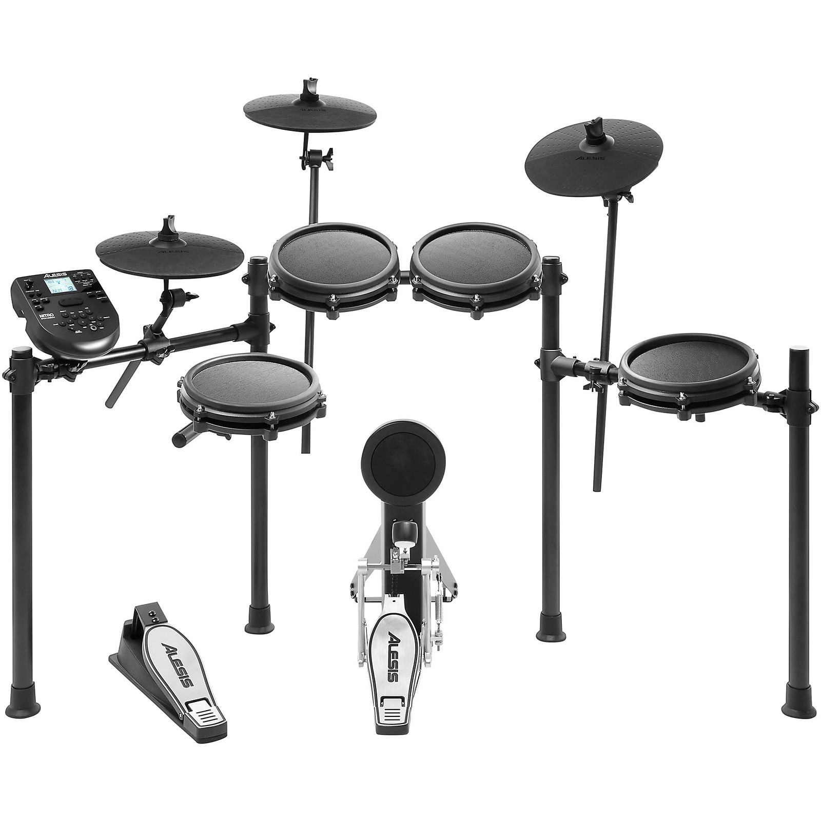Alesis Nitro Mesh 8-Piece Electronic Drum Set