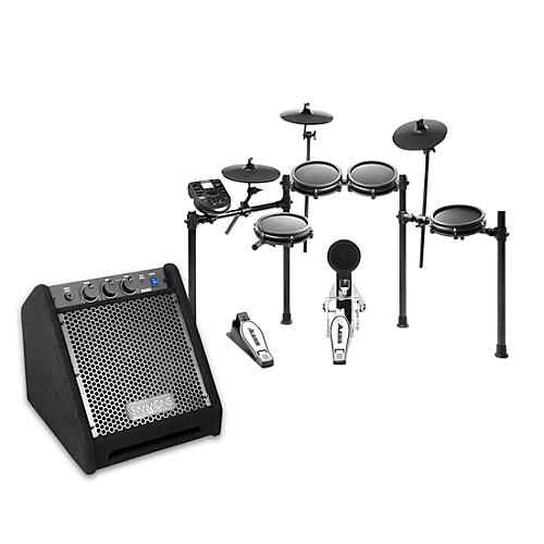 Alesis Nitro Mesh Electronic Drum Set with DA25 Amp