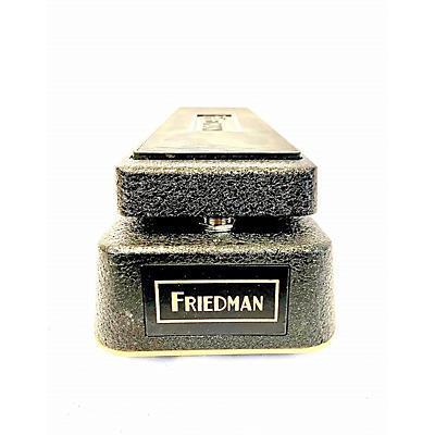 Friedman No More Tears Gold 72 Effect Pedal