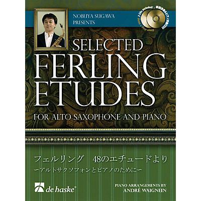 De Haske Music Nobuya Sugawa Presents Selected Ferling Etudes De Haske Intl Play Along Book with CD by Nobuya Sugawa