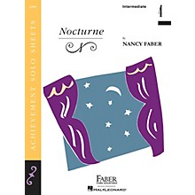 Faber Piano Adventures Nocturne (Inter/Level 4 Piano Solo) Faber Piano Adventures® Series by Nancy Faber