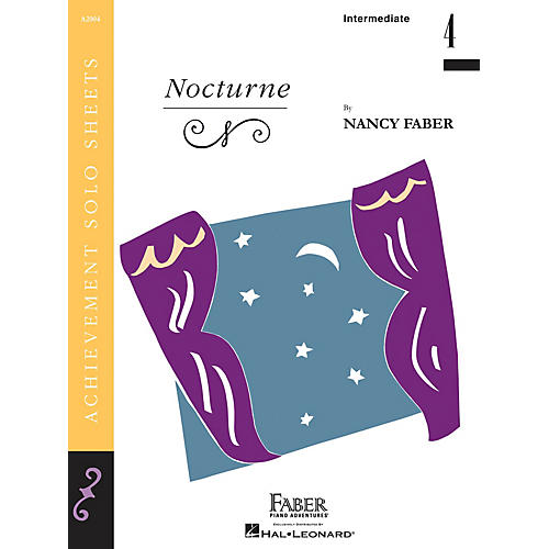 Faber Piano Adventures Nocturne (Inter/Level 4 Piano Solo) Faber Piano Adventures® Series by Nancy Faber