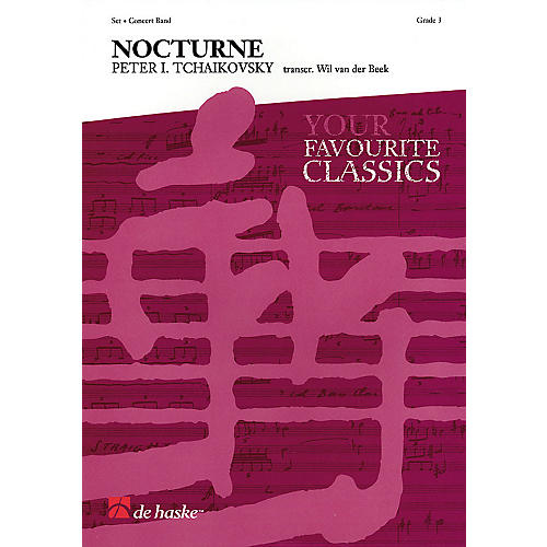 De Haske Music Nocturne Op. 54, No. 4 Concert Band Level 3 Arranged by Wil Van der Beek