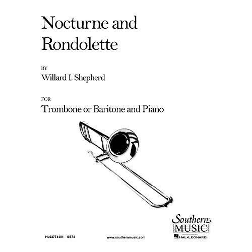 Southern Nocturne and Rondolette (Trombone) Southern Music Series Composed by Willard Shepherd