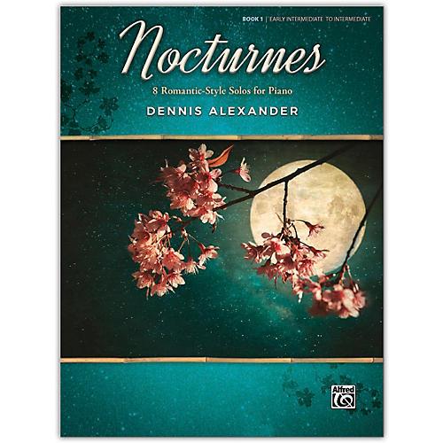 Alfred Nocturnes, Book 1 Early Intermediate / Intermediate