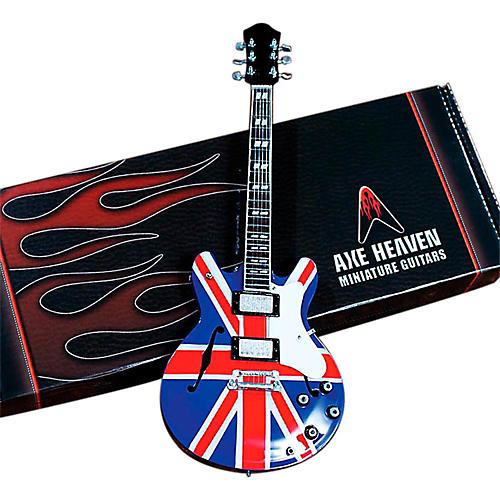 Axe Heaven Noel Gallagher Union Jack Supernova Miniature Guitar Replica Collectible