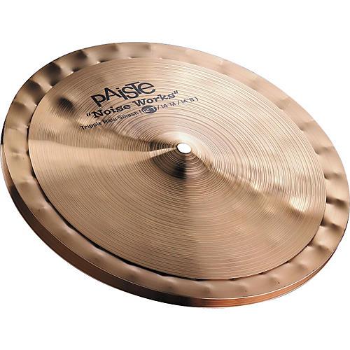 Paiste Noiseworks Triple Raw Smash Cymbal Set 12