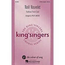 Hal Leonard Noël Nouvelet SATTBB A Cappella arranged by Philip Lawson