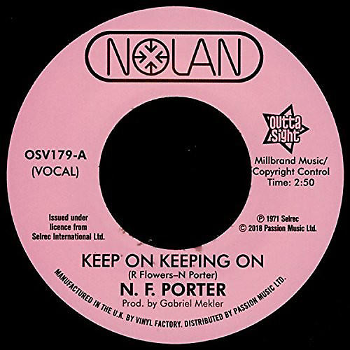 Nolan Porter - Keep On Keeping On / If I Could Only Be Sure