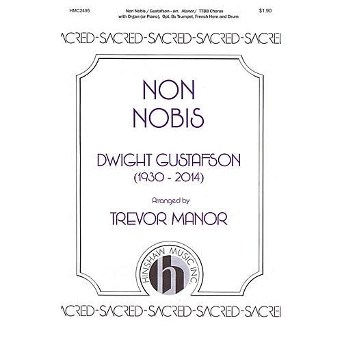 Hinshaw Music Non Nobis TTBB arranged by Trevor Manor