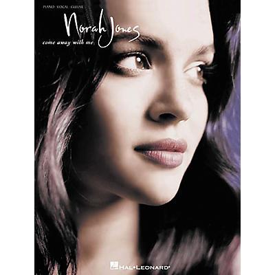 Hal Leonard Norah Jones - Come Away with Me Piano, Vocal, Guitar Songbook