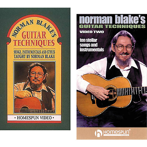 Homespun Norman Blake's Guitar Techniques 1 (VHS)