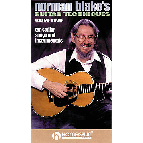 Homespun Norman Blake's Guitar Techniques 2 (VHS)