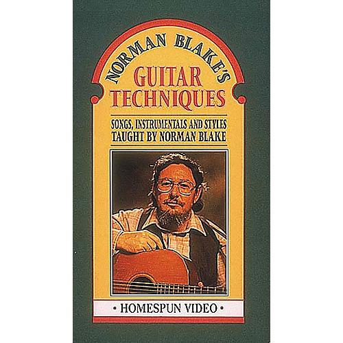 Hal Leonard Norman Blake's Guitar Techniques Video
