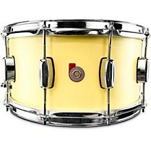 North American Maple Snare Drum 14 x 6.5 in. Cream Satin Lacquer