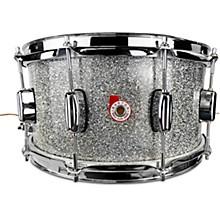 North American Maple Snare Drum 14 x 6.5 in. Silver Sparkle Lacquer