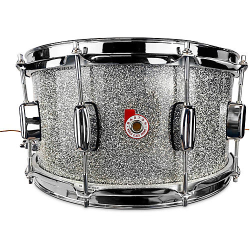 Barton Drums North American Maple Snare Drum 14 x 6.5 in. Silver Sparkle Lacquer