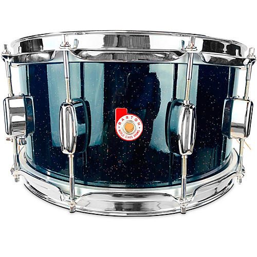Barton Drums North American Maple Snare Drum Condition 1 - Mint 14 x 6.5 in. Black Sparkle Lacquer